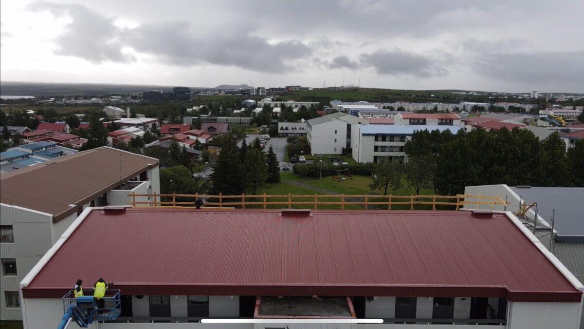 þakviðgerð - EIKARFELL